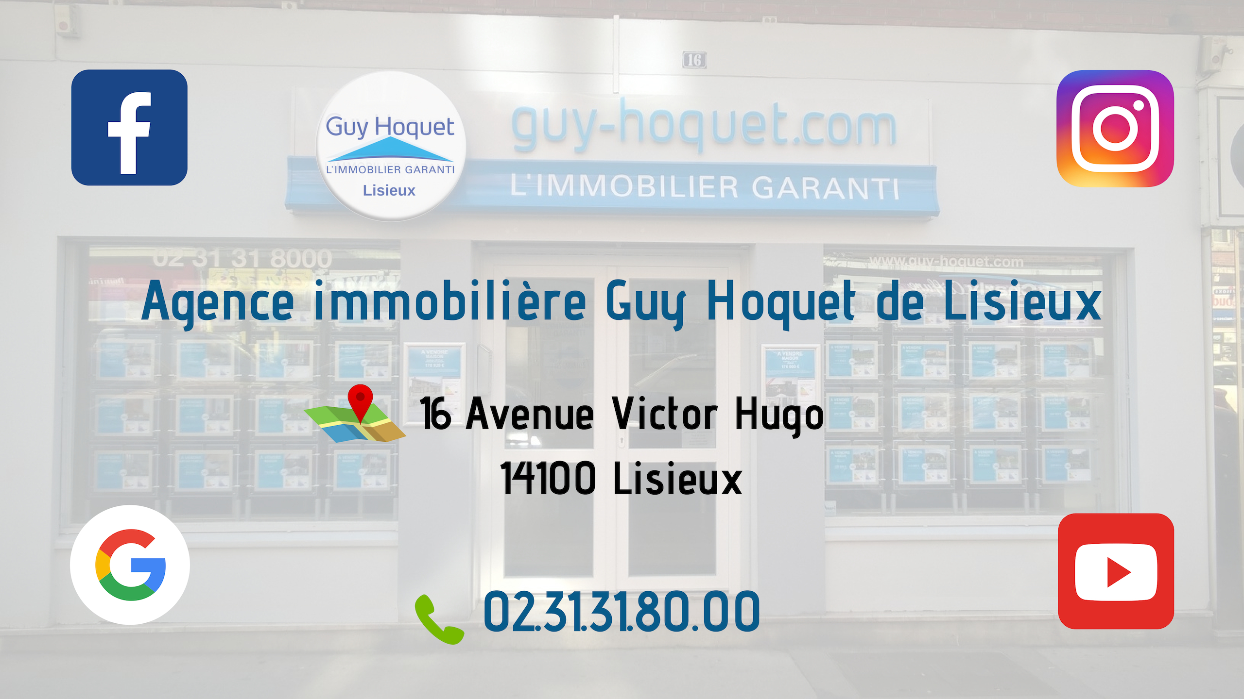 Agence immobilière Guy Hoquet Lisieux - Contact